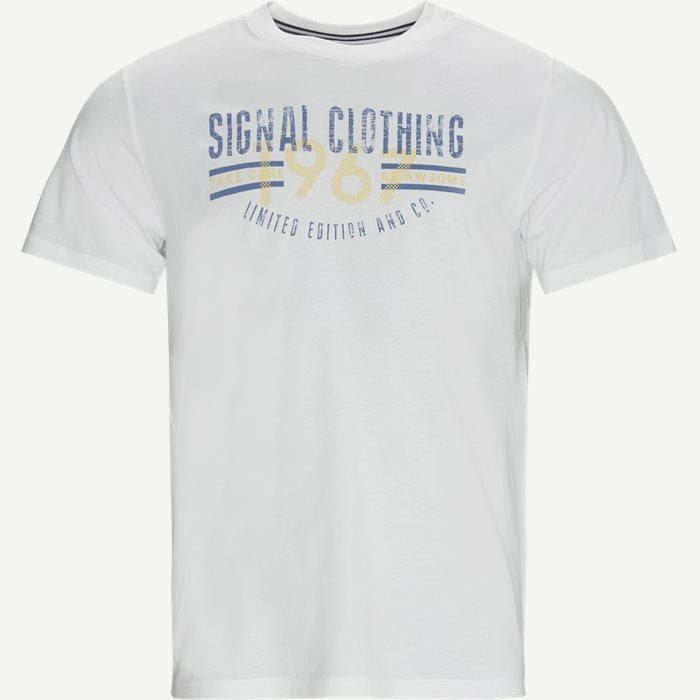 T-shirts - Regular - White