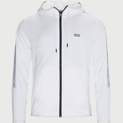 Saggy Icon Zip Sweatshirt Regular   Saggy Icon Zip Sweatshirt   Hvid