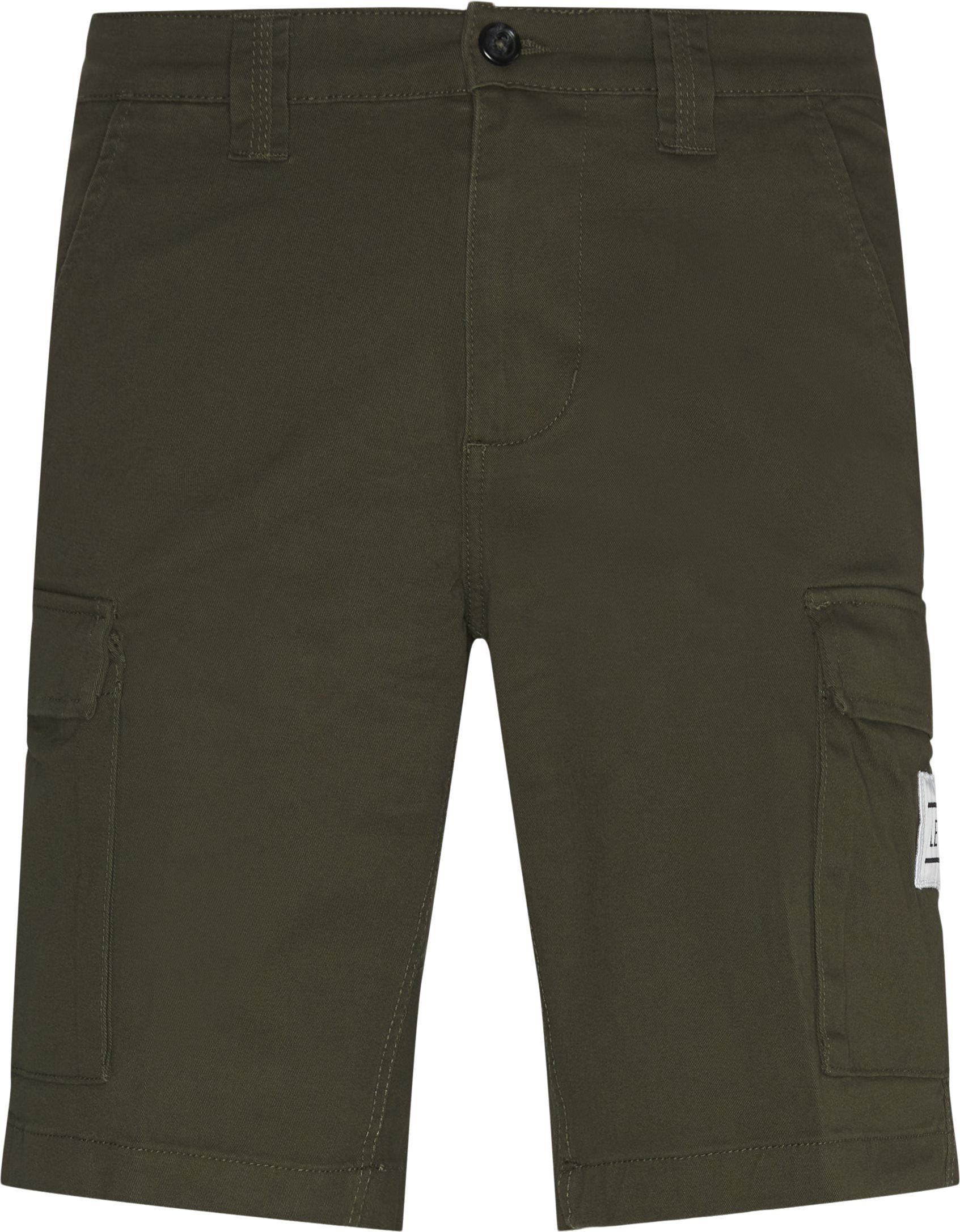 Shorts - Loose fit - Army