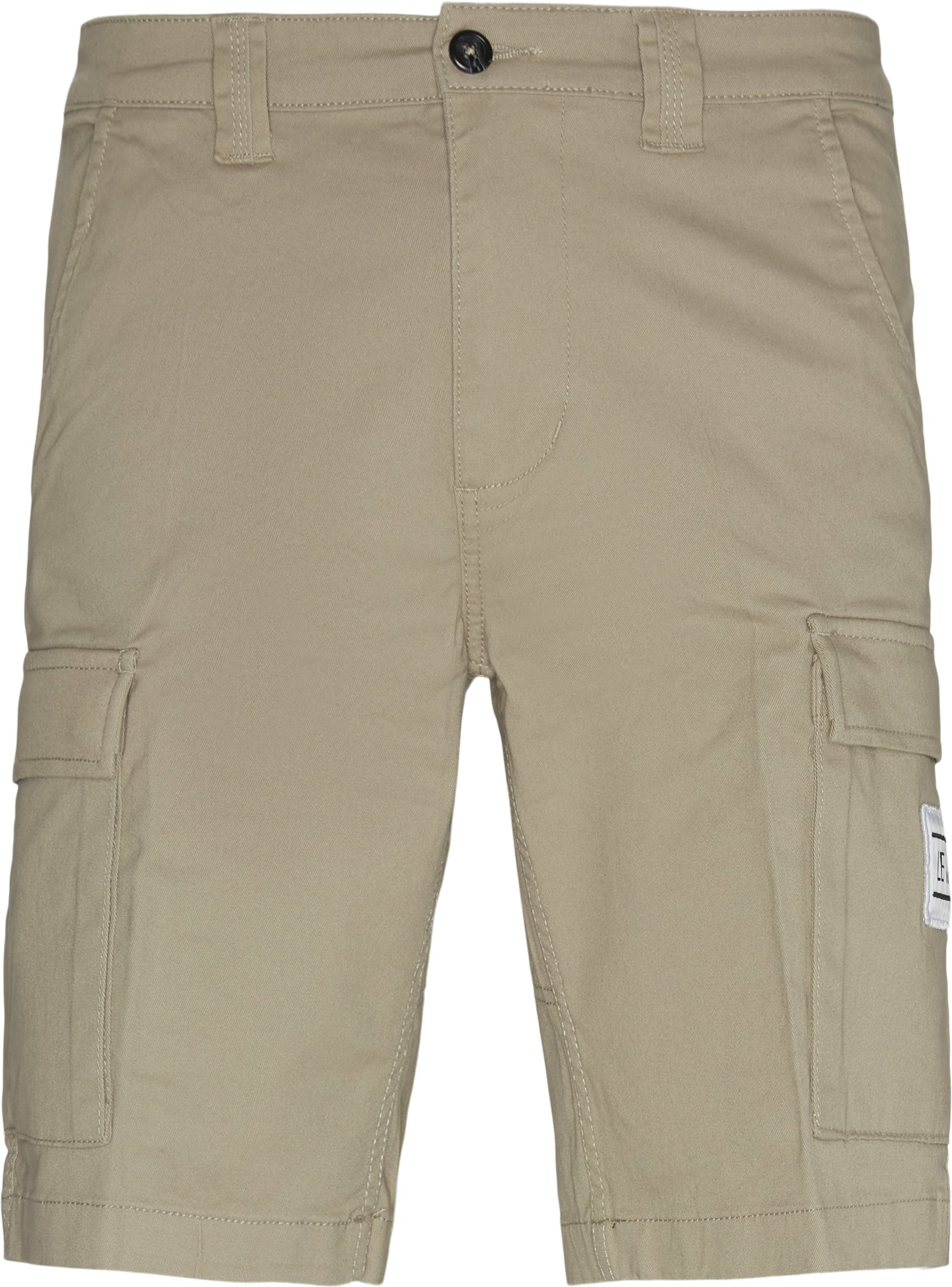 Shorts - Loose fit - Sand
