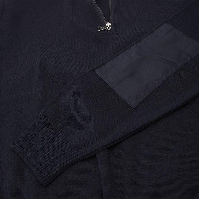 Half-Zip Logo Sweater