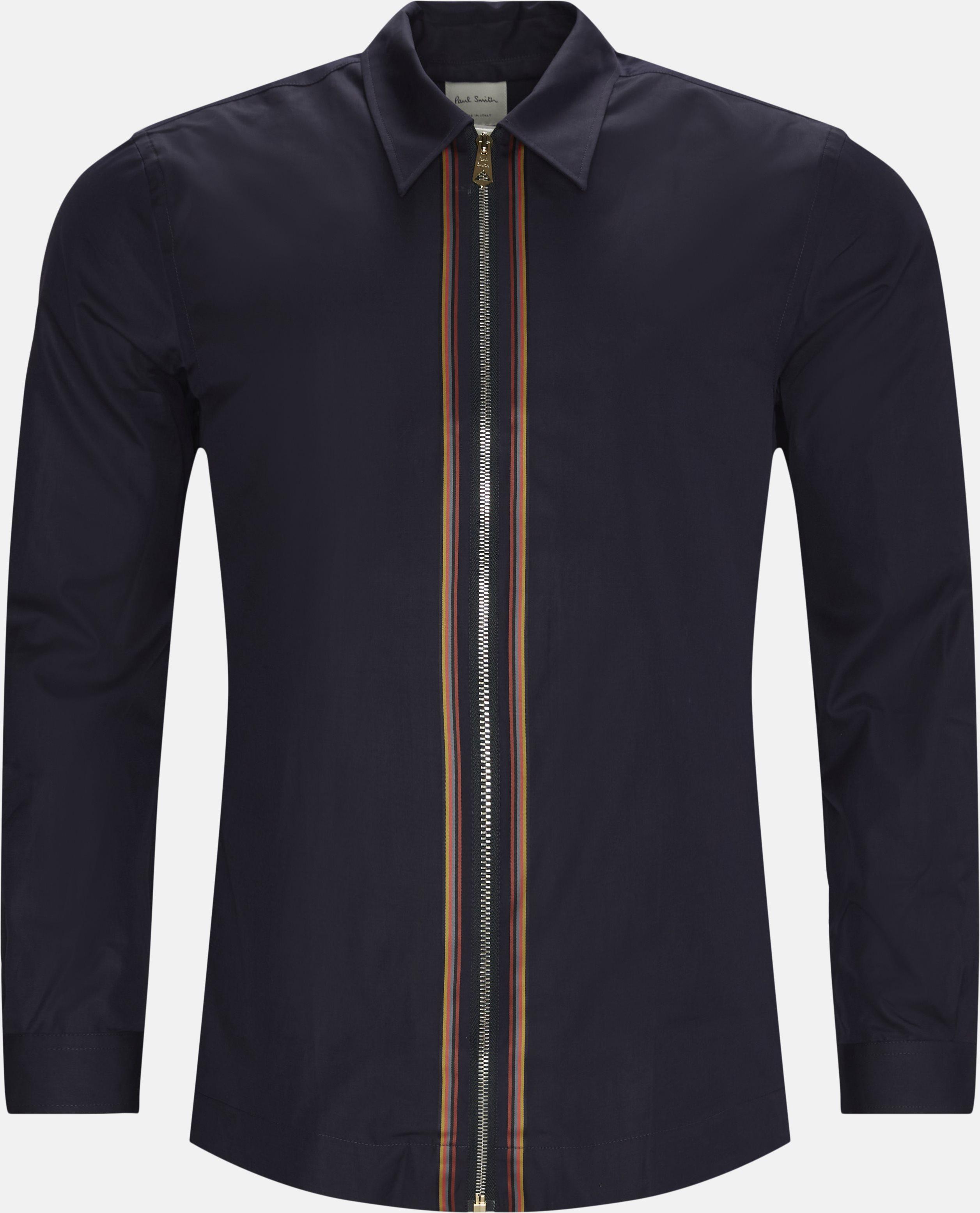 Skjorte - Skjorter - Regular - Blå
