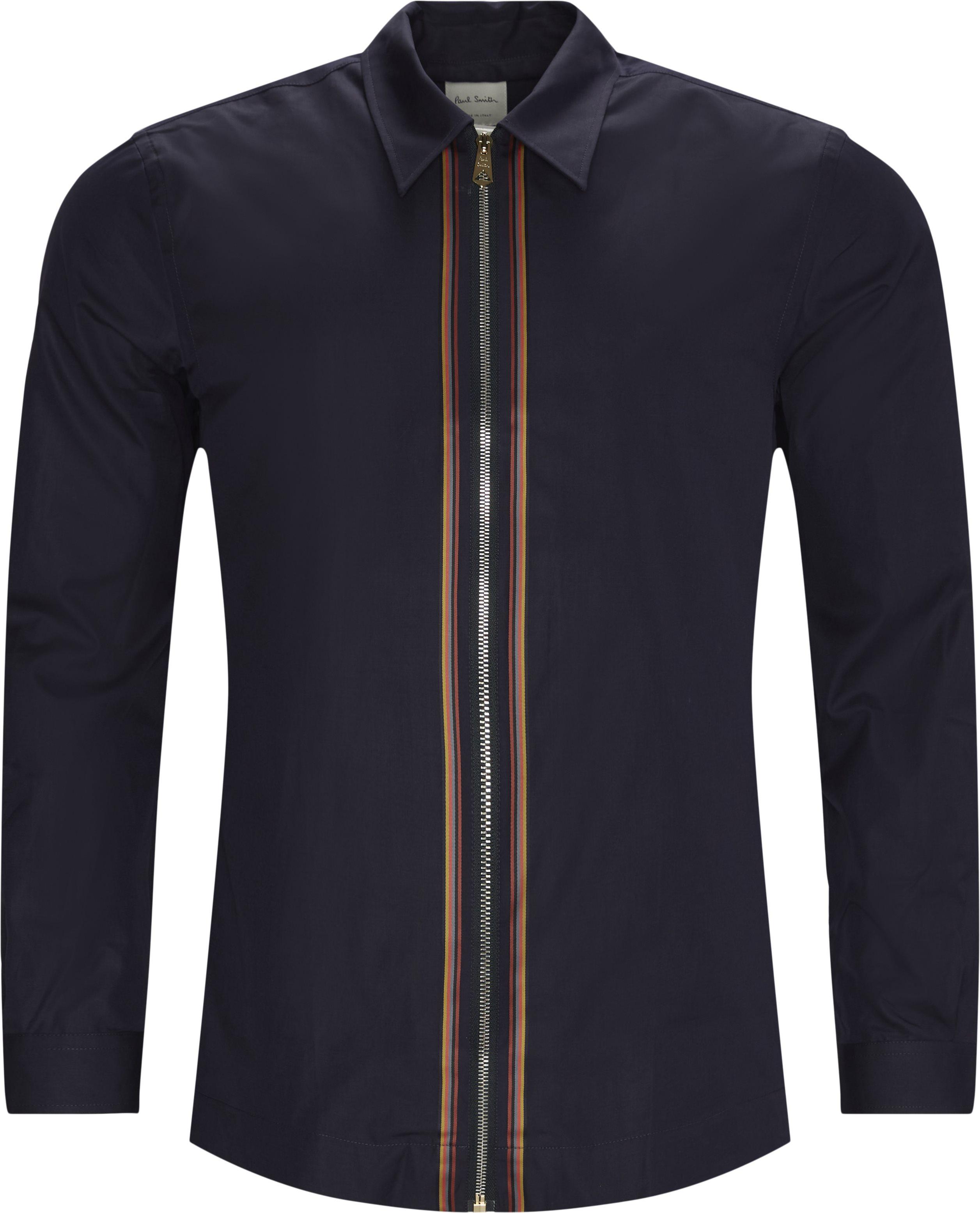 Skjorte - Skjorter - Regular fit - Blå