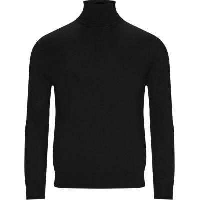 Rullekrave Regular fit | Rullekrave | Sort
