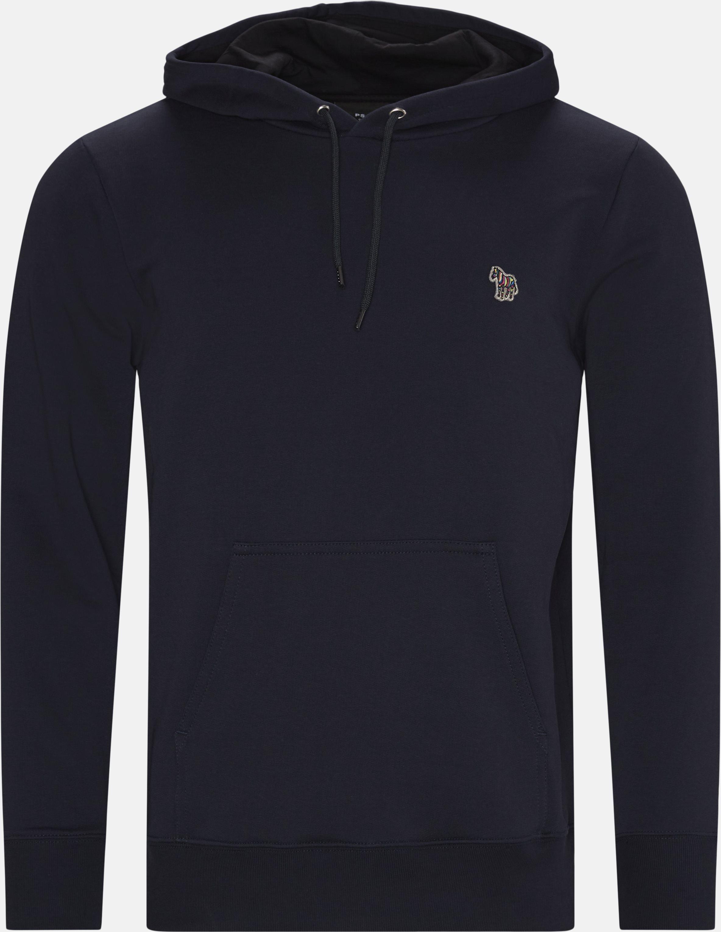Hoodie  - Sweatshirts - Regular - Blå