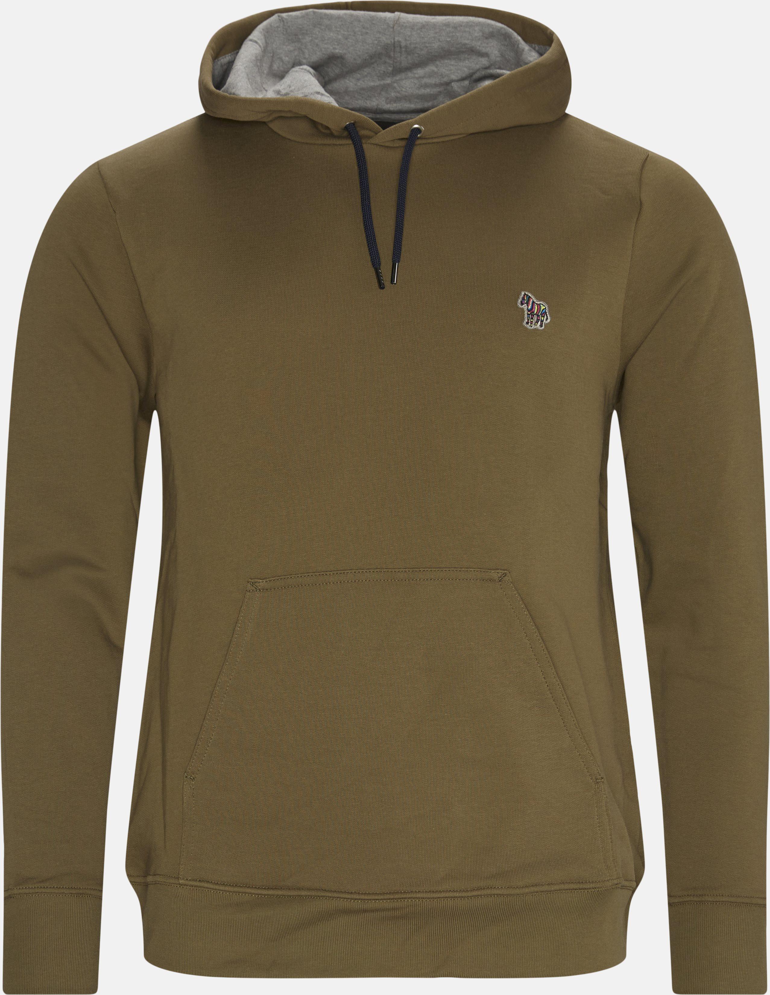 Hoodie  - Sweatshirts - Regular - Army