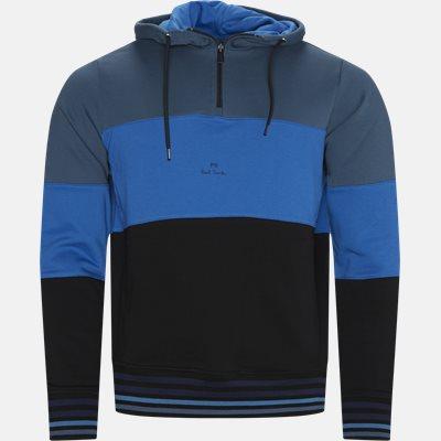 Half-zip Hoodie Regular | Half-zip Hoodie | Blå
