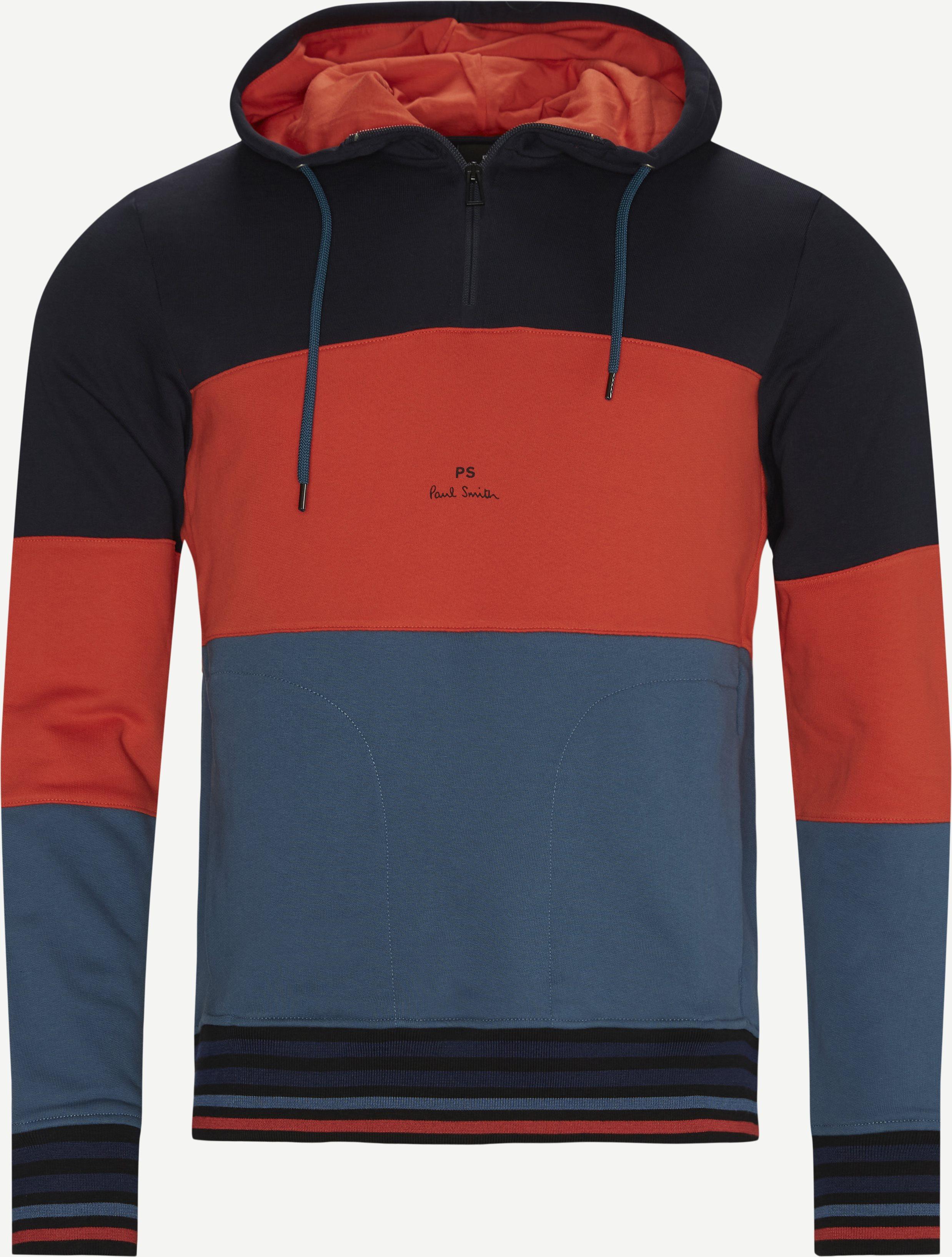 Sweatshirts - Regular fit - Red