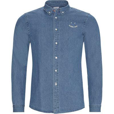 Denim Skjorte Tailored fit | Denim Skjorte | Blå
