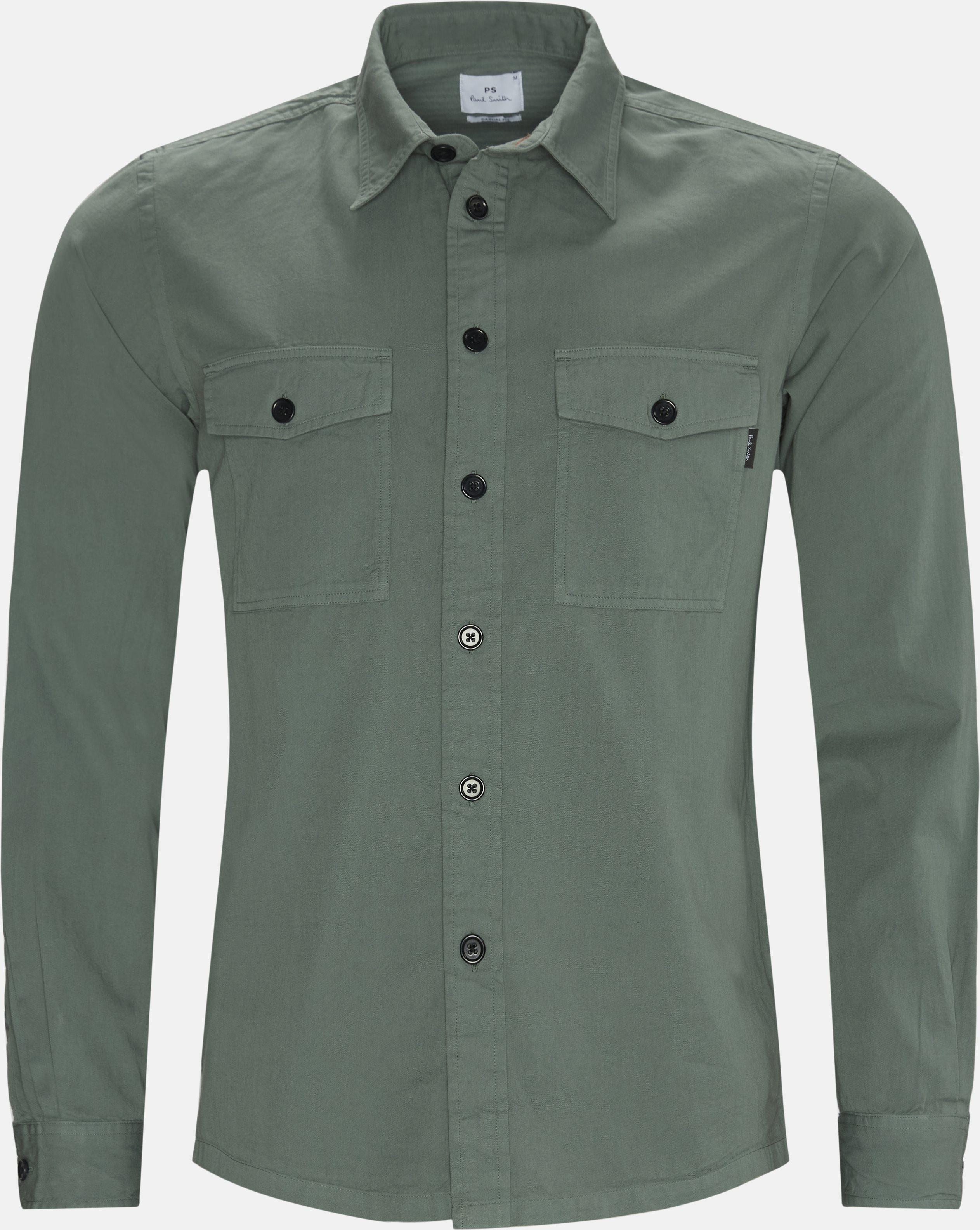 Skjorter - Regular - Army
