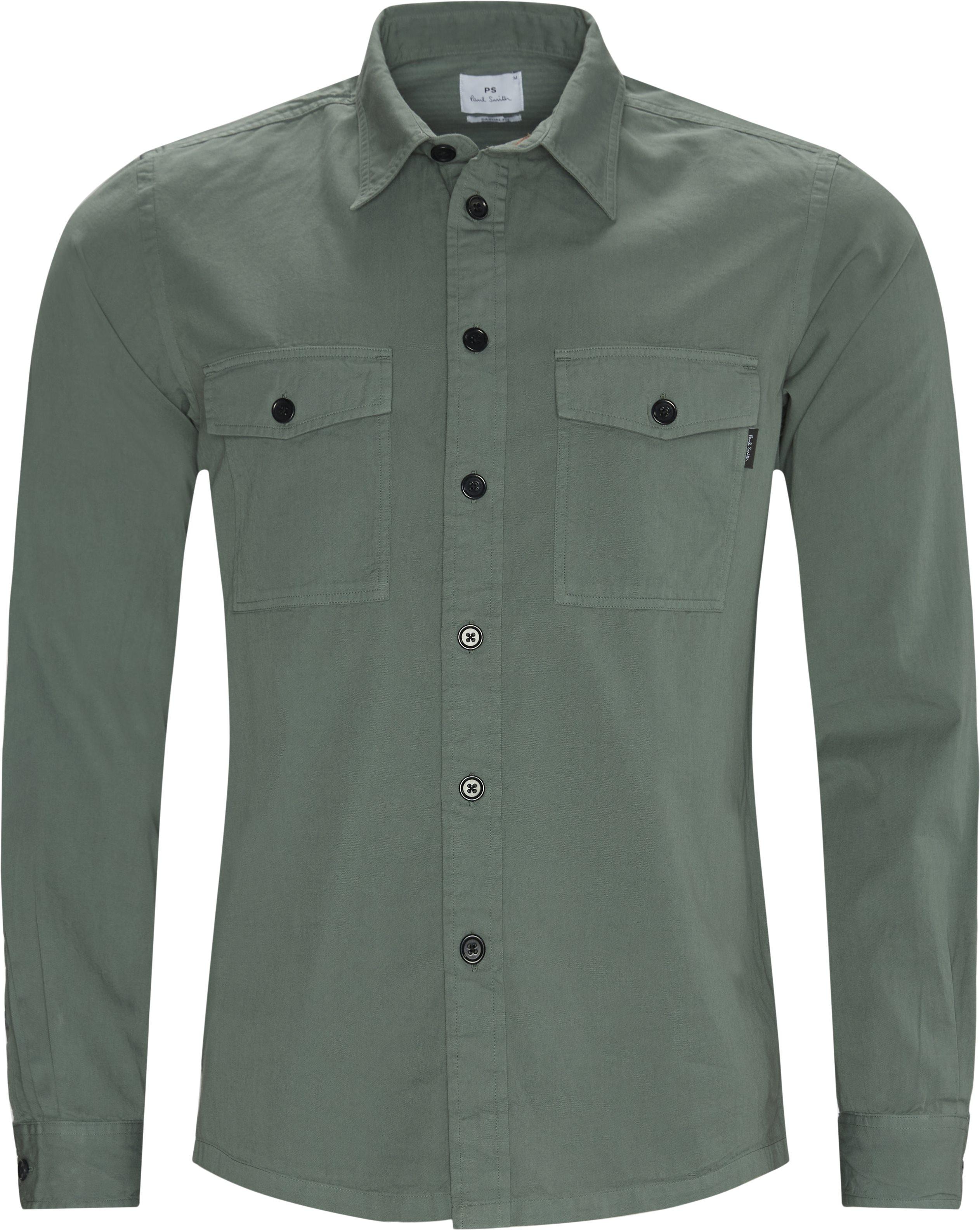 Skjorter - Regular fit - Army