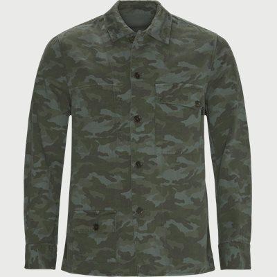 Reversible Overshirt Regular fit | Reversible Overshirt | Army