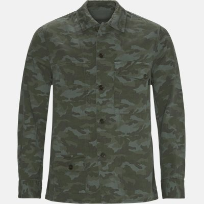 Reversible Overshirt Regular | Reversible Overshirt | Army