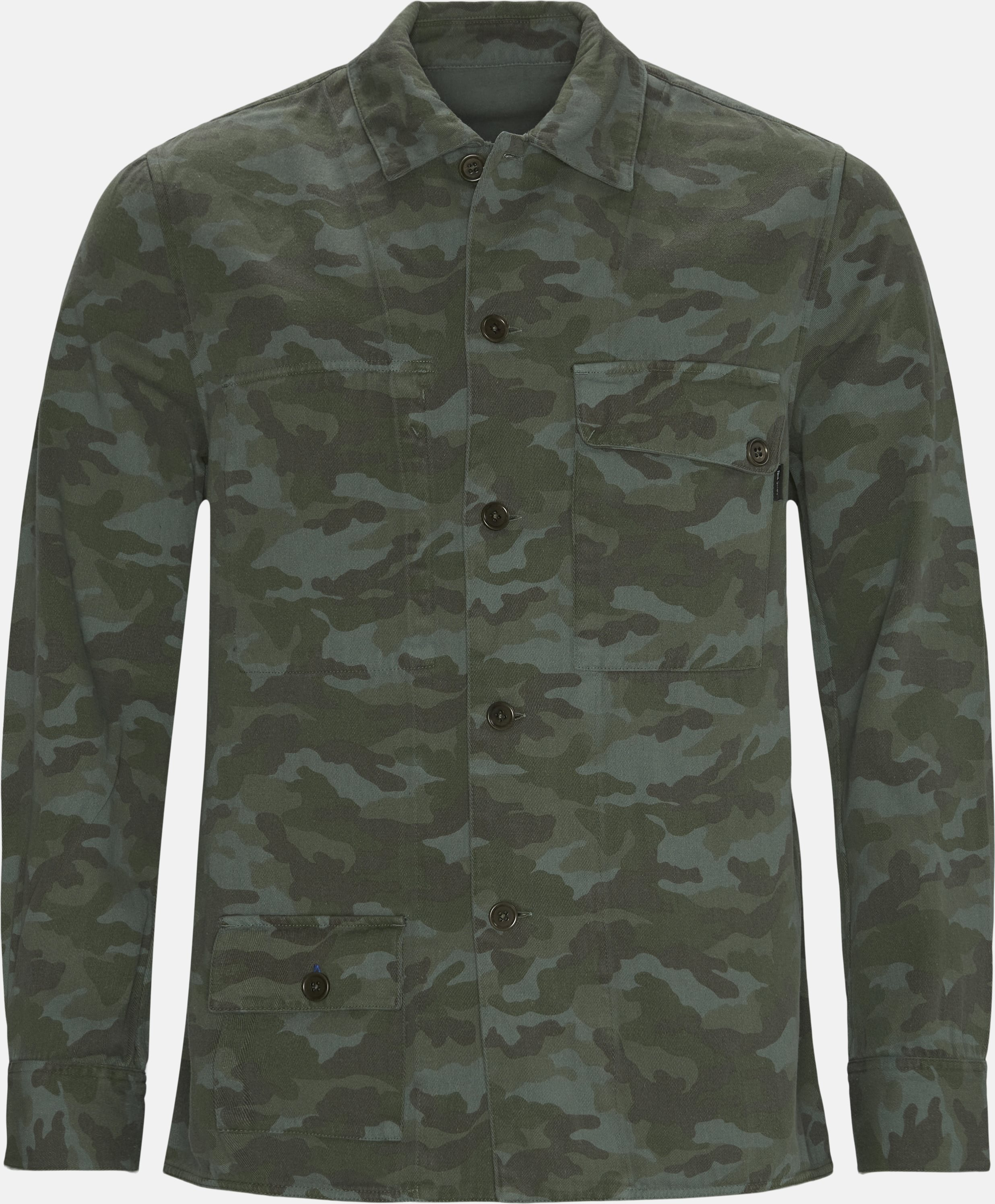 Reversible Overshirt - Overshirts - Regular - Army