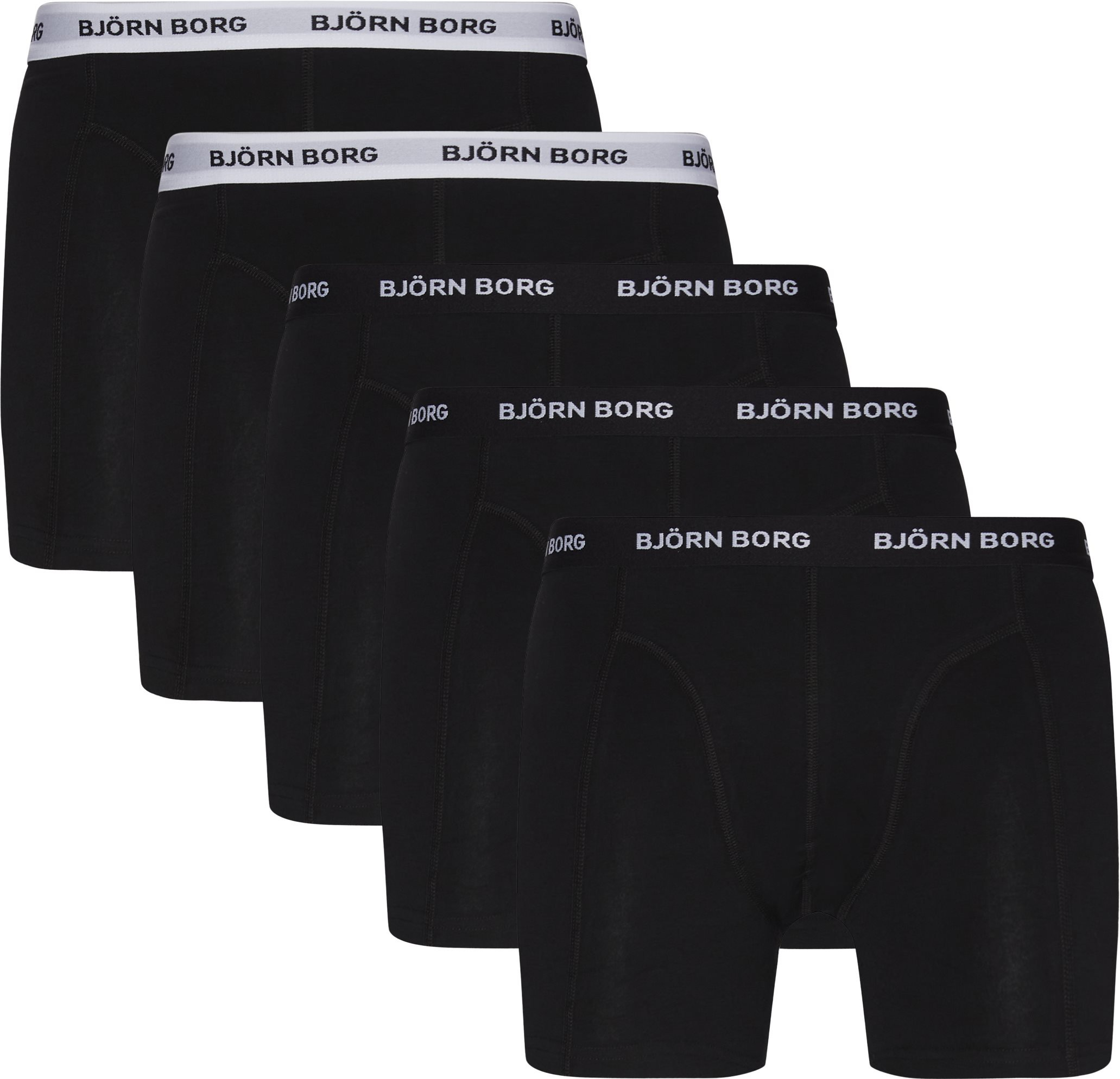 5-pack Tights - Undertøj - Sort