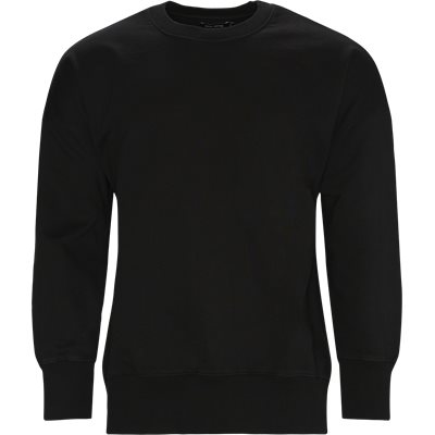 Caruso Crewneck Sweatshirt Regular | Caruso Crewneck Sweatshirt | Black
