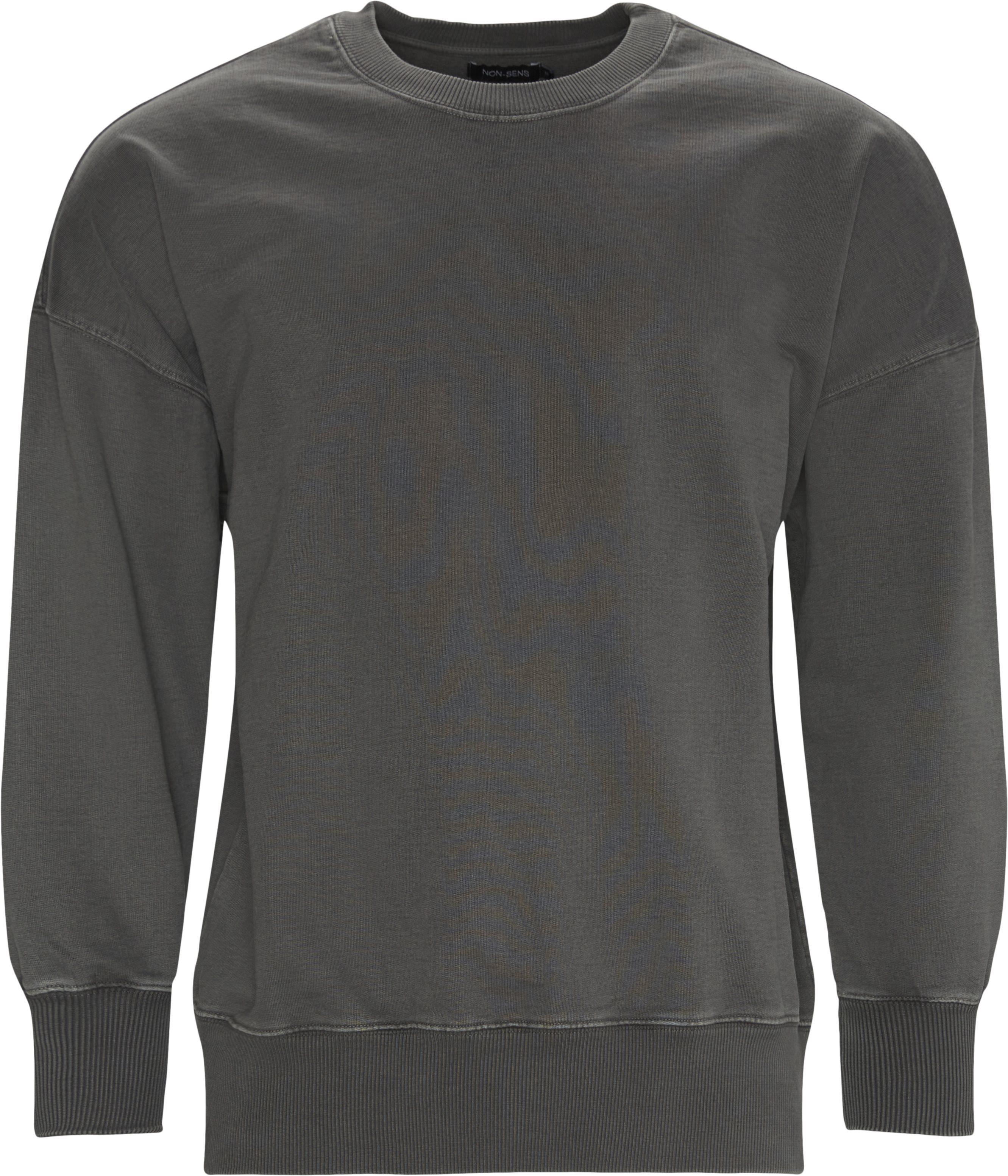 Caruso Crewneck Sweatshirt - Sweatshirts - Regular - Grå