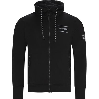 Cuisine Zip Sweatshirt Regular | Cuisine Zip Sweatshirt | Black