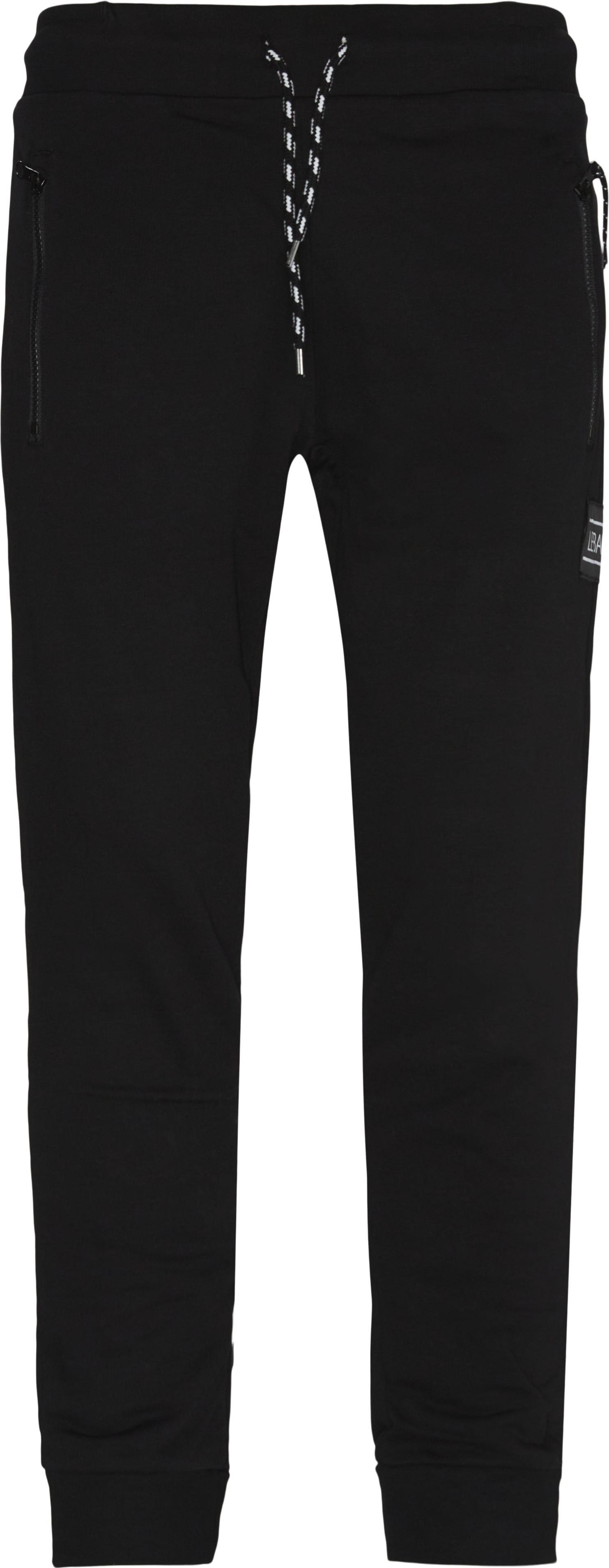 Haute Sweatpant - Bukser - Tapered fit - Sort