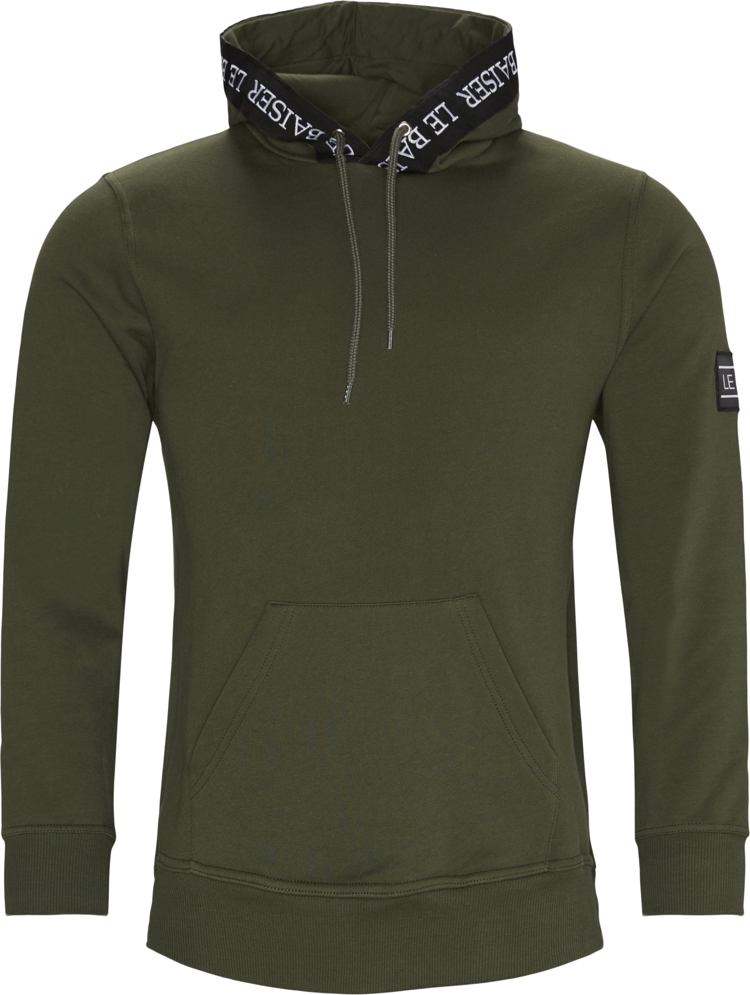 Provence Hoodie - Sweatshirts - Regular - Army