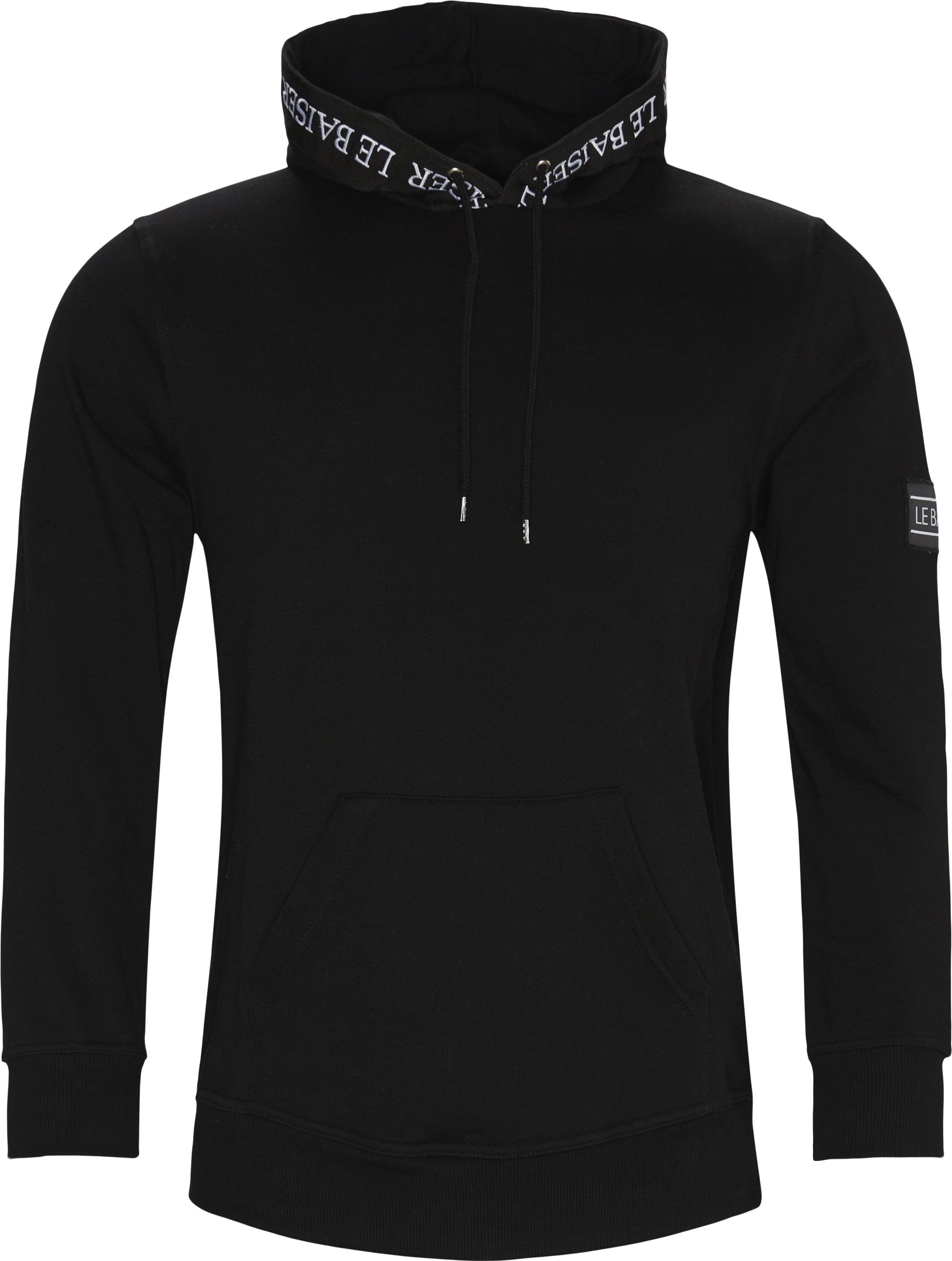 Provence Hoodie - Sweatshirts - Regular - Sort