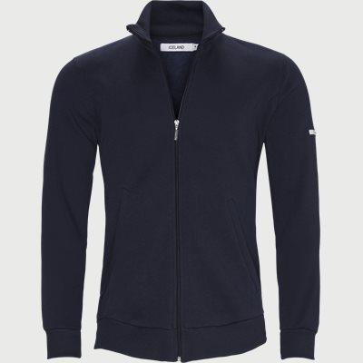 Burgos Zip Sweatshirt  Regular | Burgos Zip Sweatshirt  | Blå