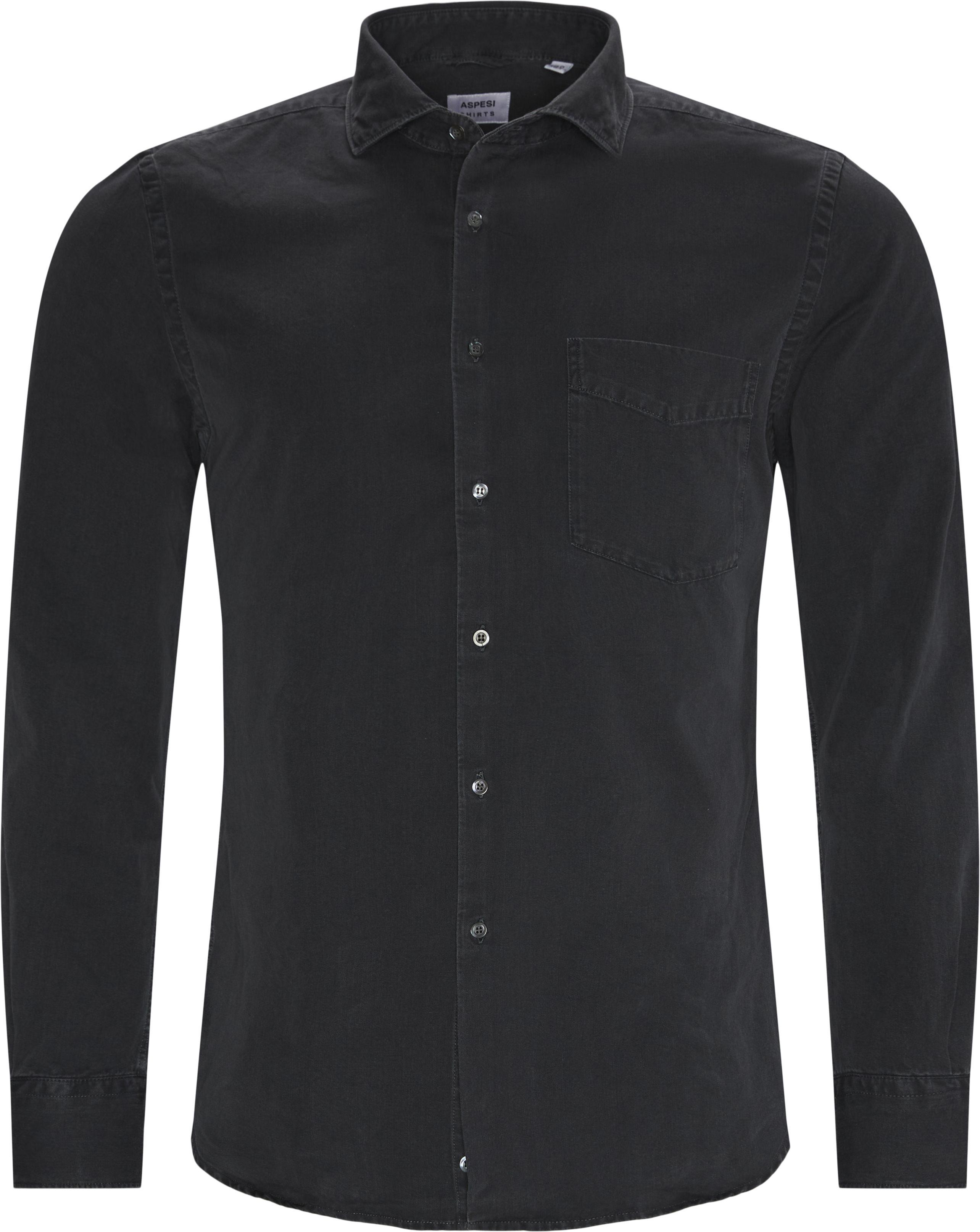 Shirts - Regular fit - Grey