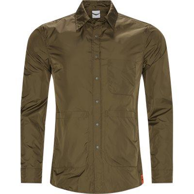 Nylon skjorte Regular fit | Nylon skjorte | Army