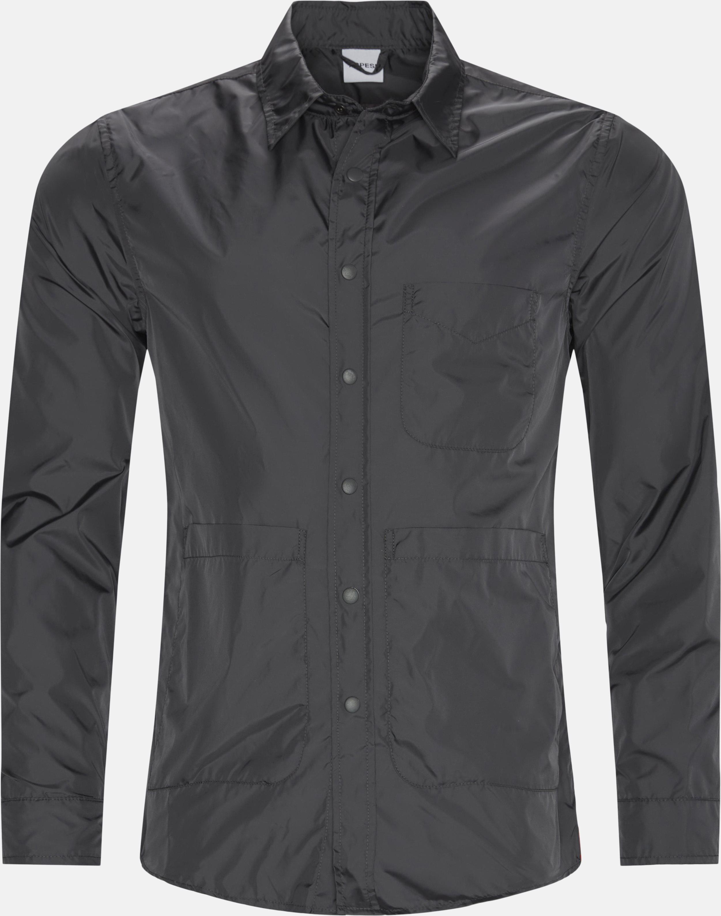 Nylon skjorte - Skjorter - Regular - Grå