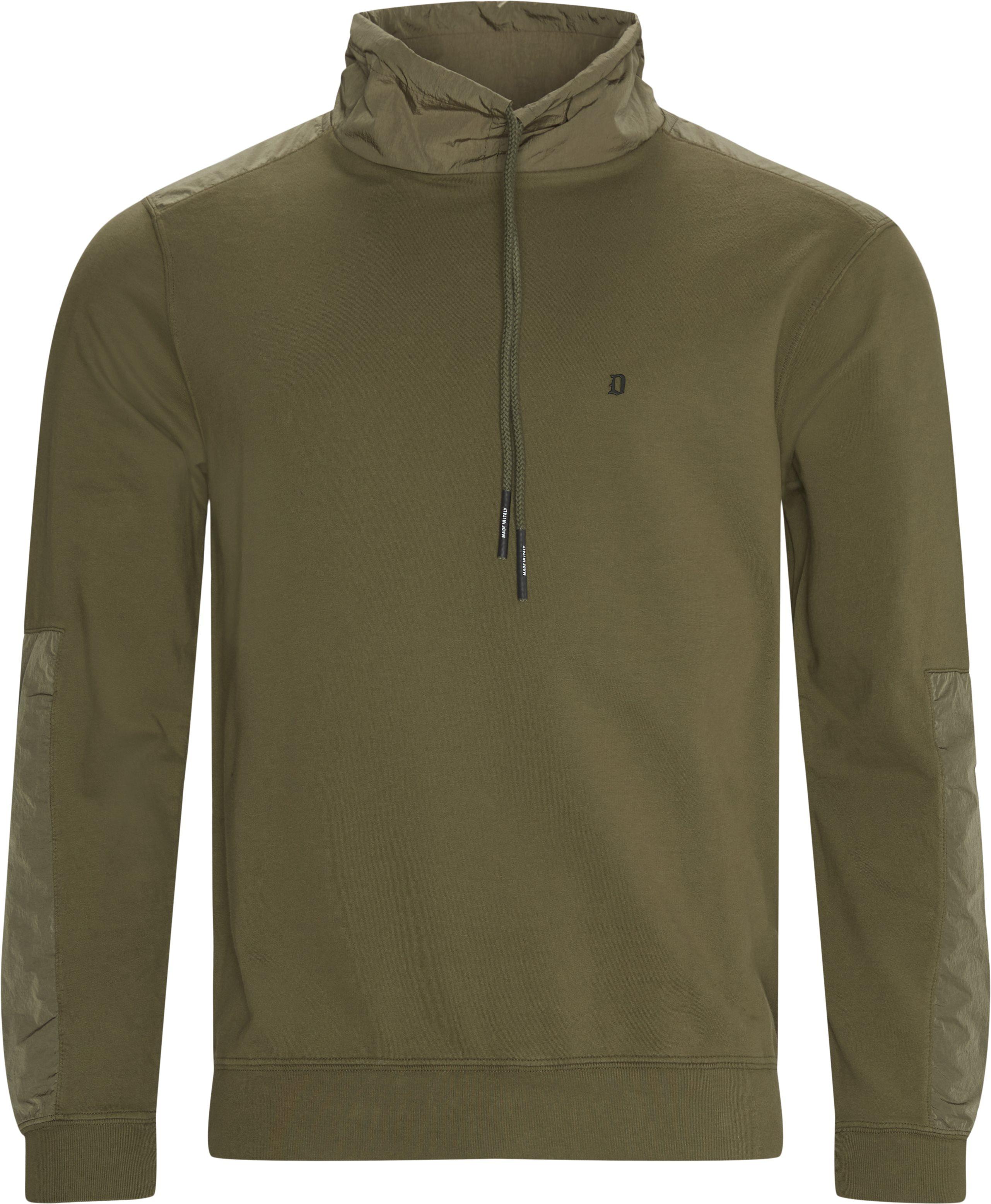 Sweatshirts - Regular fit - Army