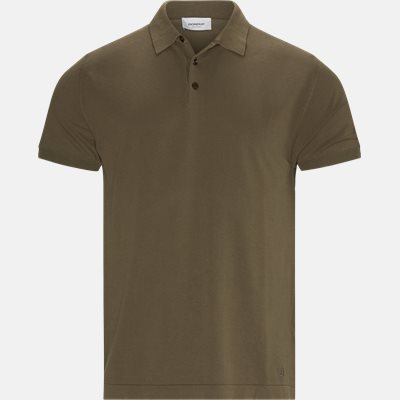 Polo T-shirt Regular | Polo T-shirt | Brun