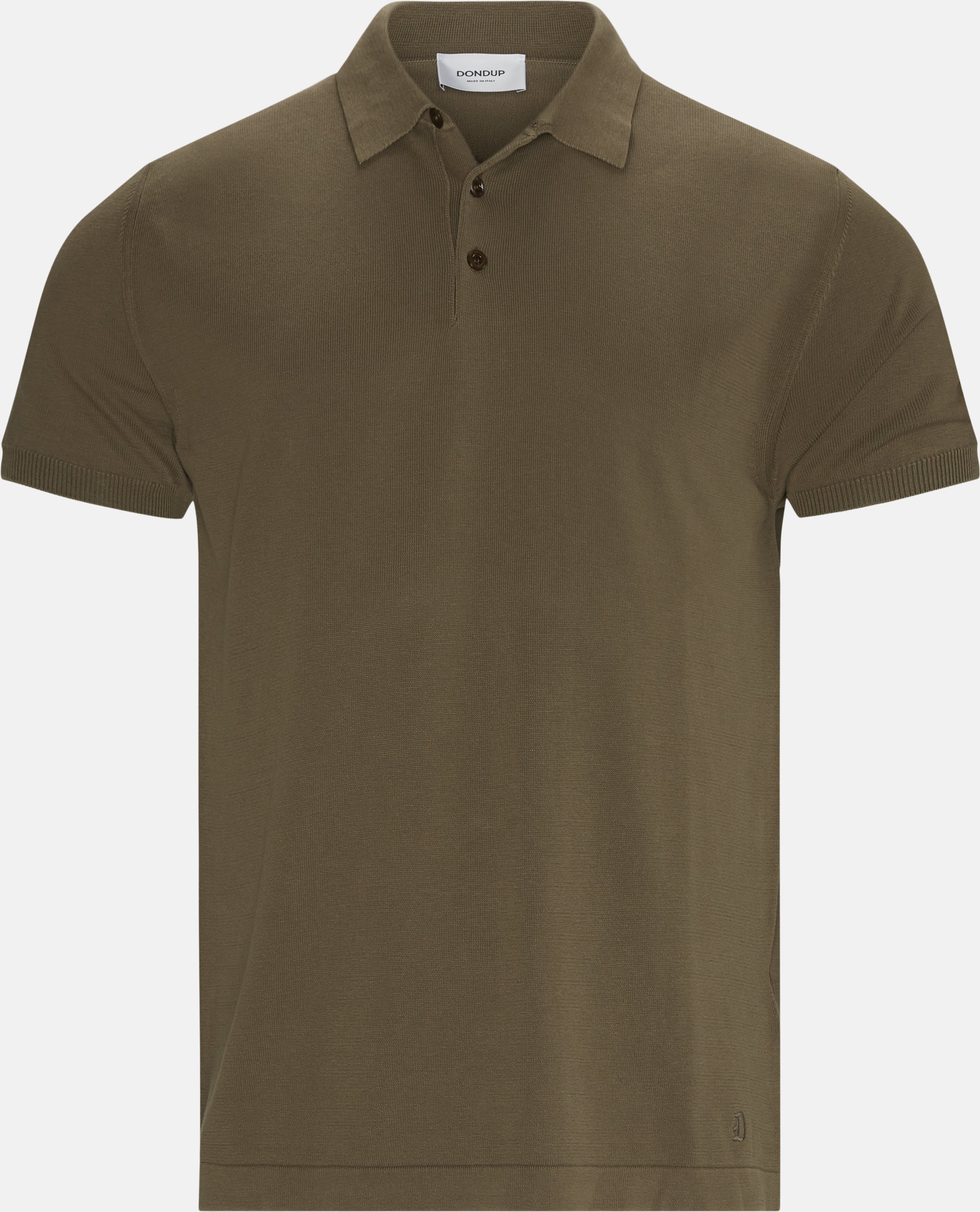 Polo T-shirt - T-shirts - Regular - Brun