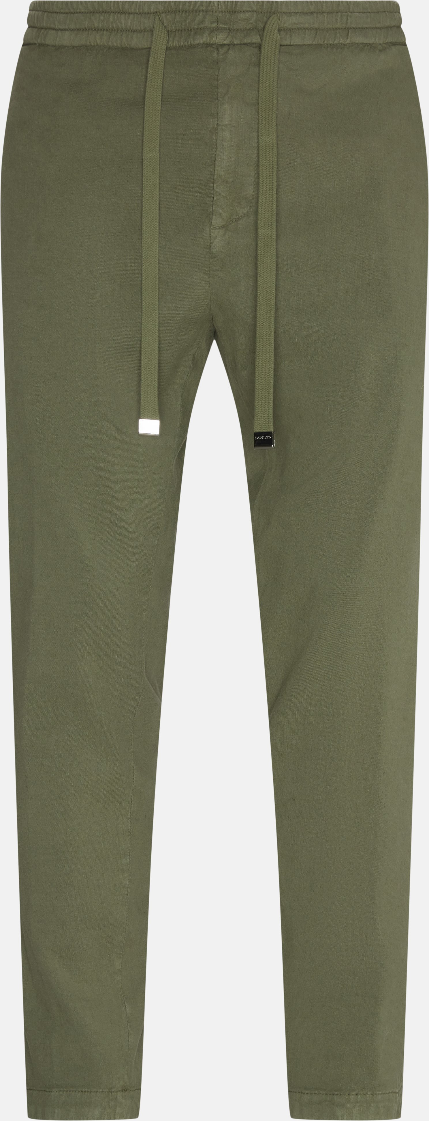 Trousers - Loose - Army