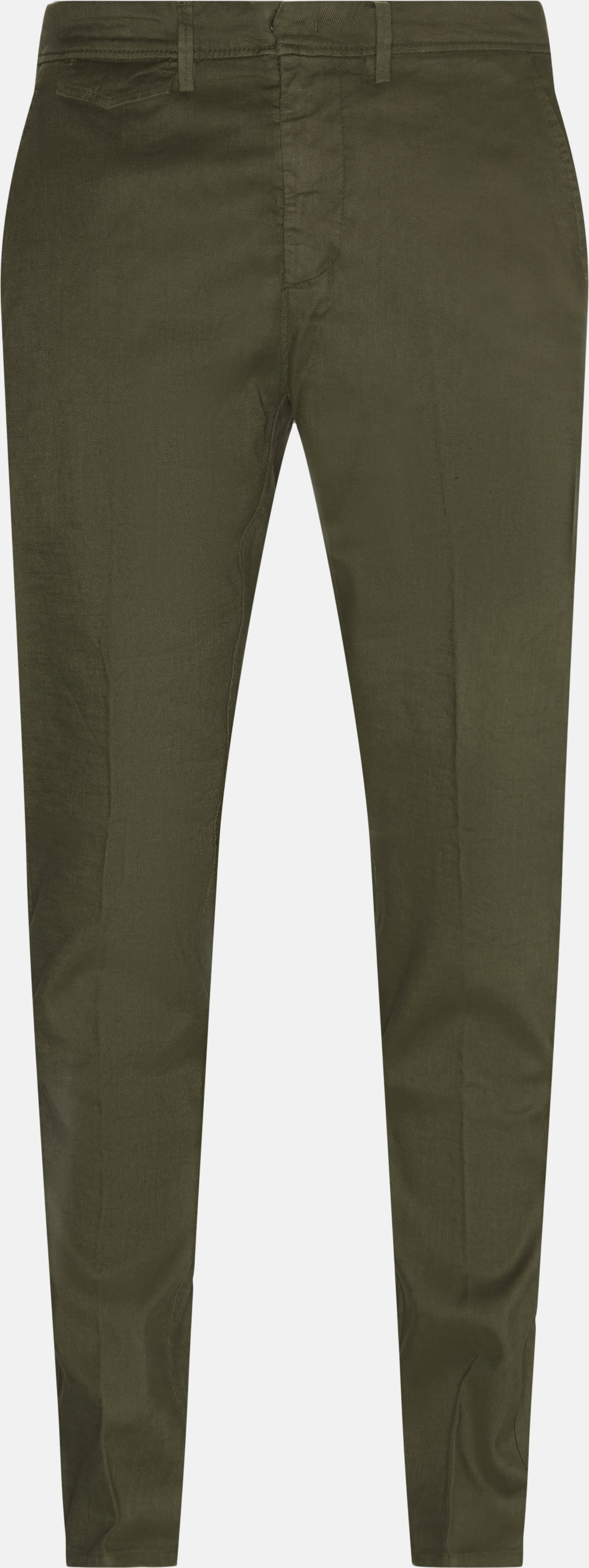 Trousers - Regular fit - Army