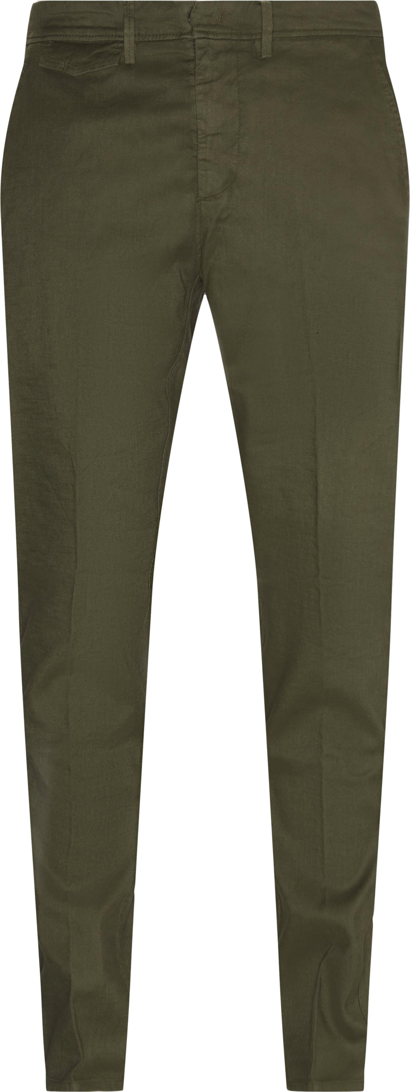 Chinos  - Bukser - Regular fit - Army