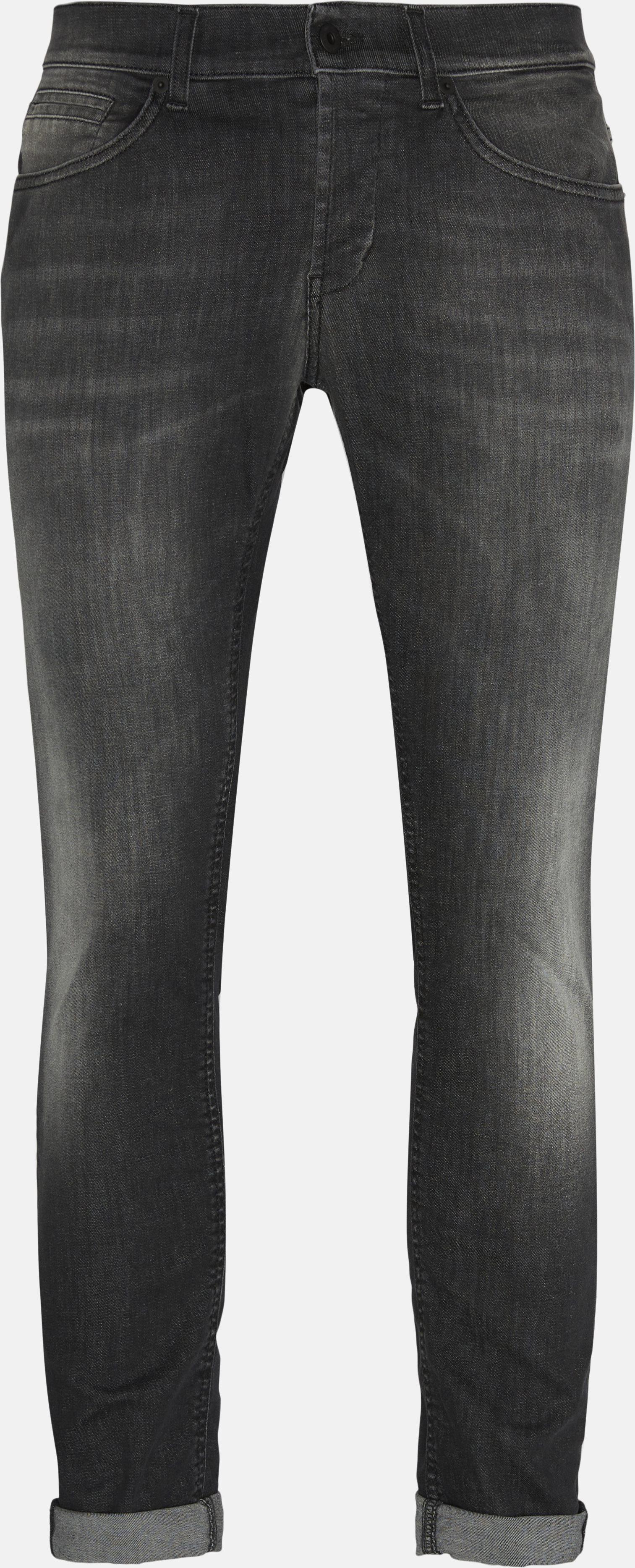 George - Jeans - Slim - Grå