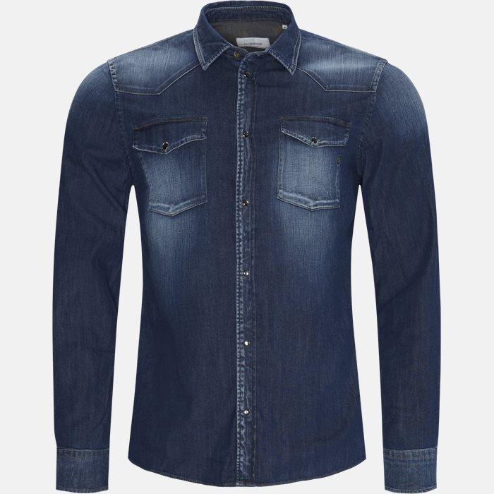 Denim skjorte - Skjorter - Regular - Denim