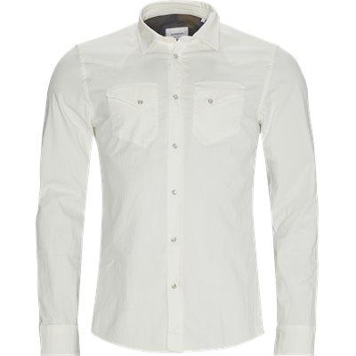 Denim skjorte Regular fit | Denim skjorte | Hvid
