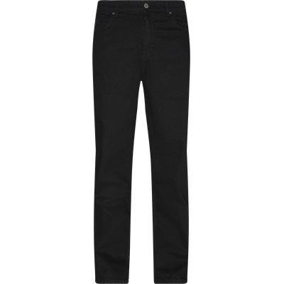 Loose fit | Jeans | Svart