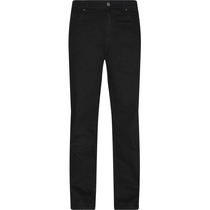Jeans - Loose fit - Black