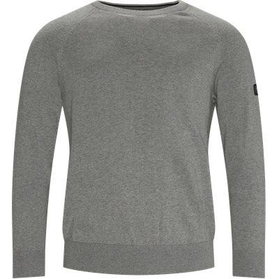 International Cotton Crewneck Knit Regular | International Cotton Crewneck Knit | Grå