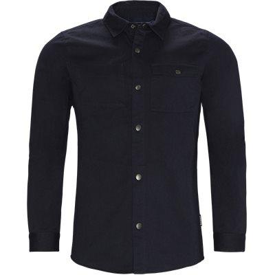 Mortan Overshirt Regular | Mortan Overshirt | Blå