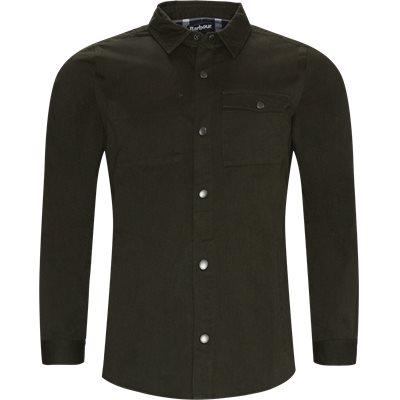 Mortan Overshirt Regular | Mortan Overshirt | Grøn