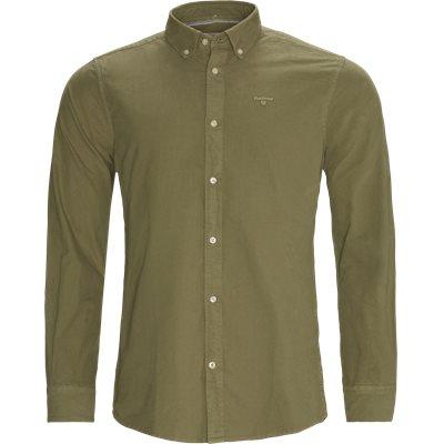 Tailored Oxford Skjorte Tailored fit | Tailored Oxford Skjorte | Grøn