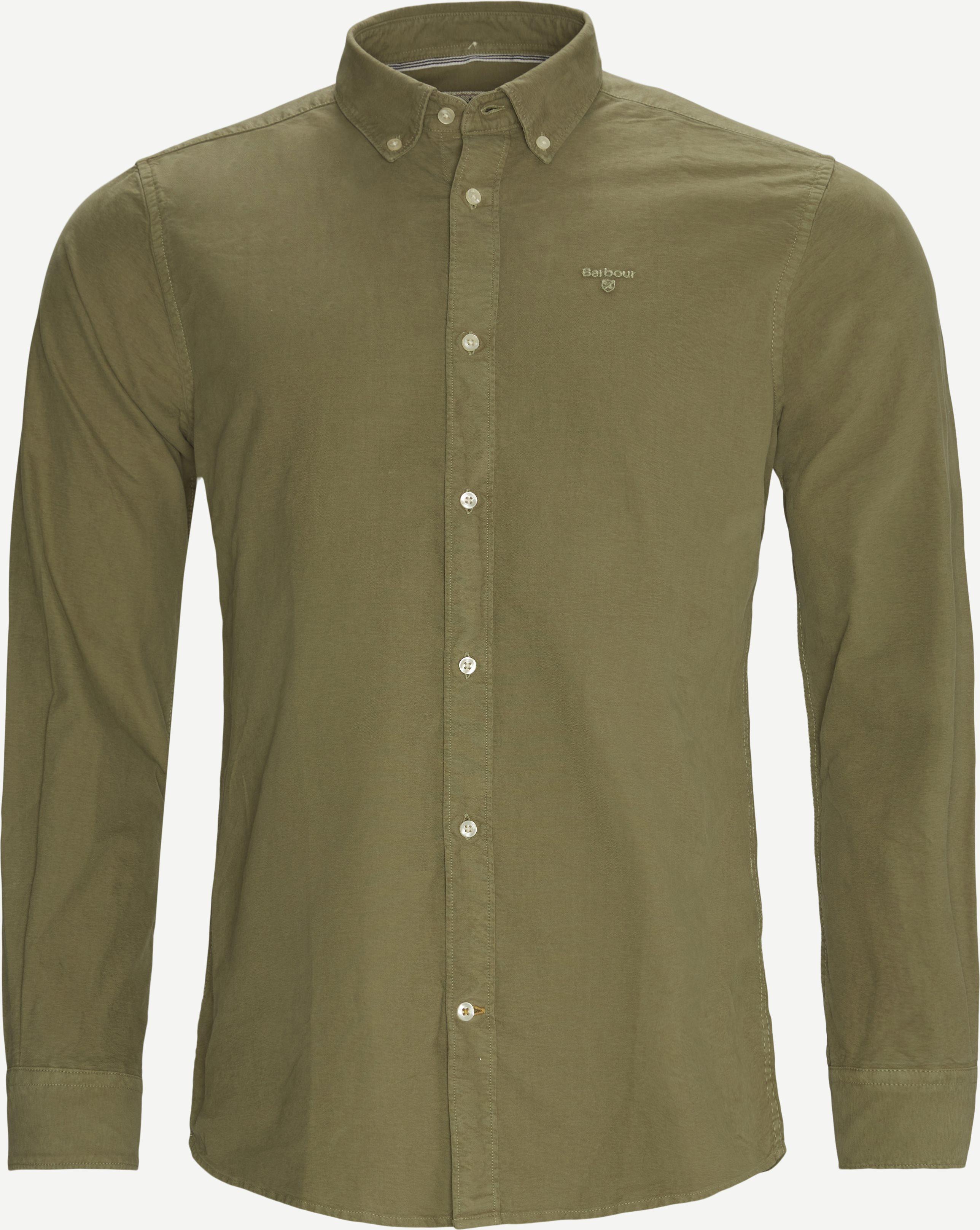Hemden - Tailored fit - Grün