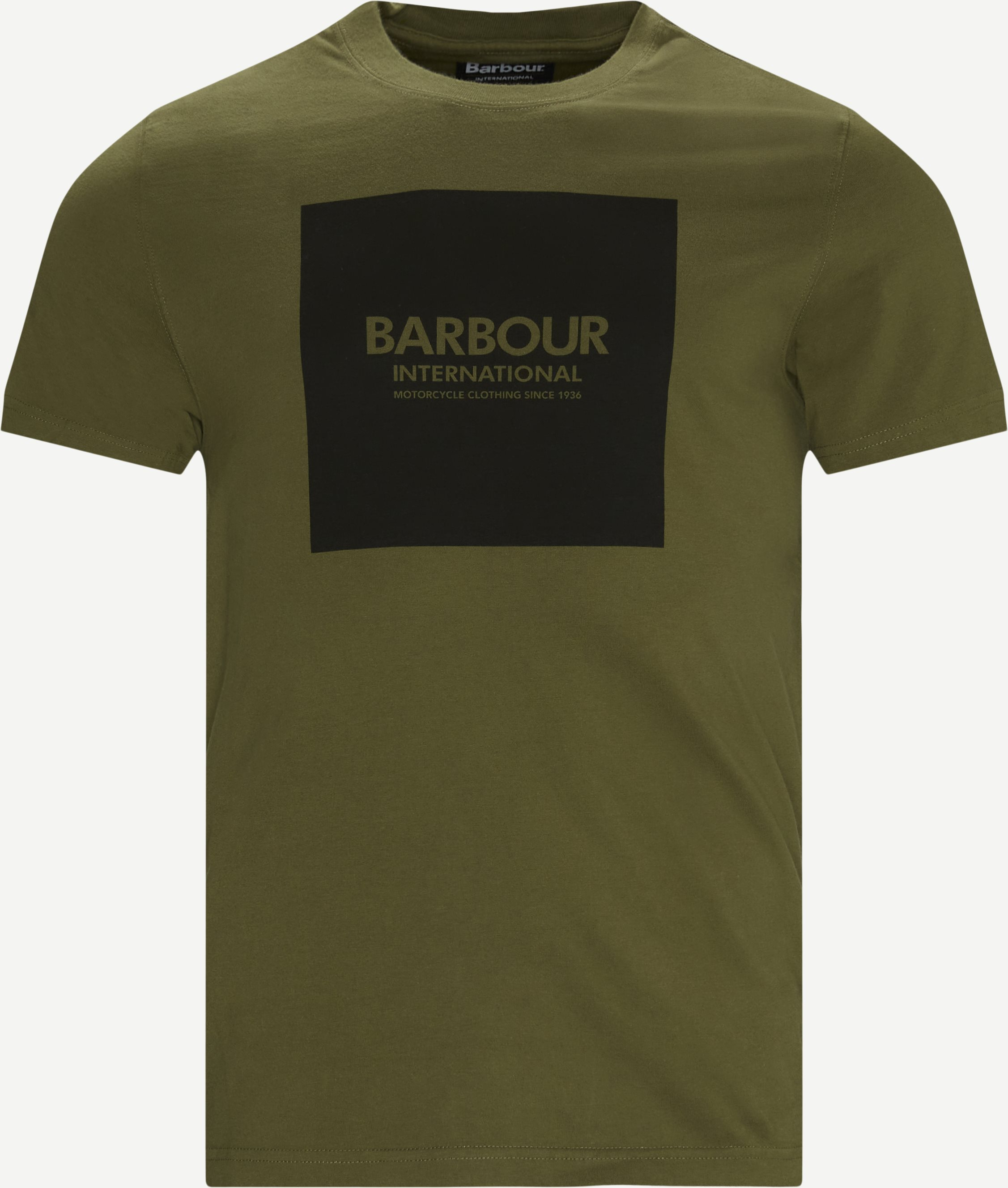 International Block T-shirt - T-shirts - Regular - Grön