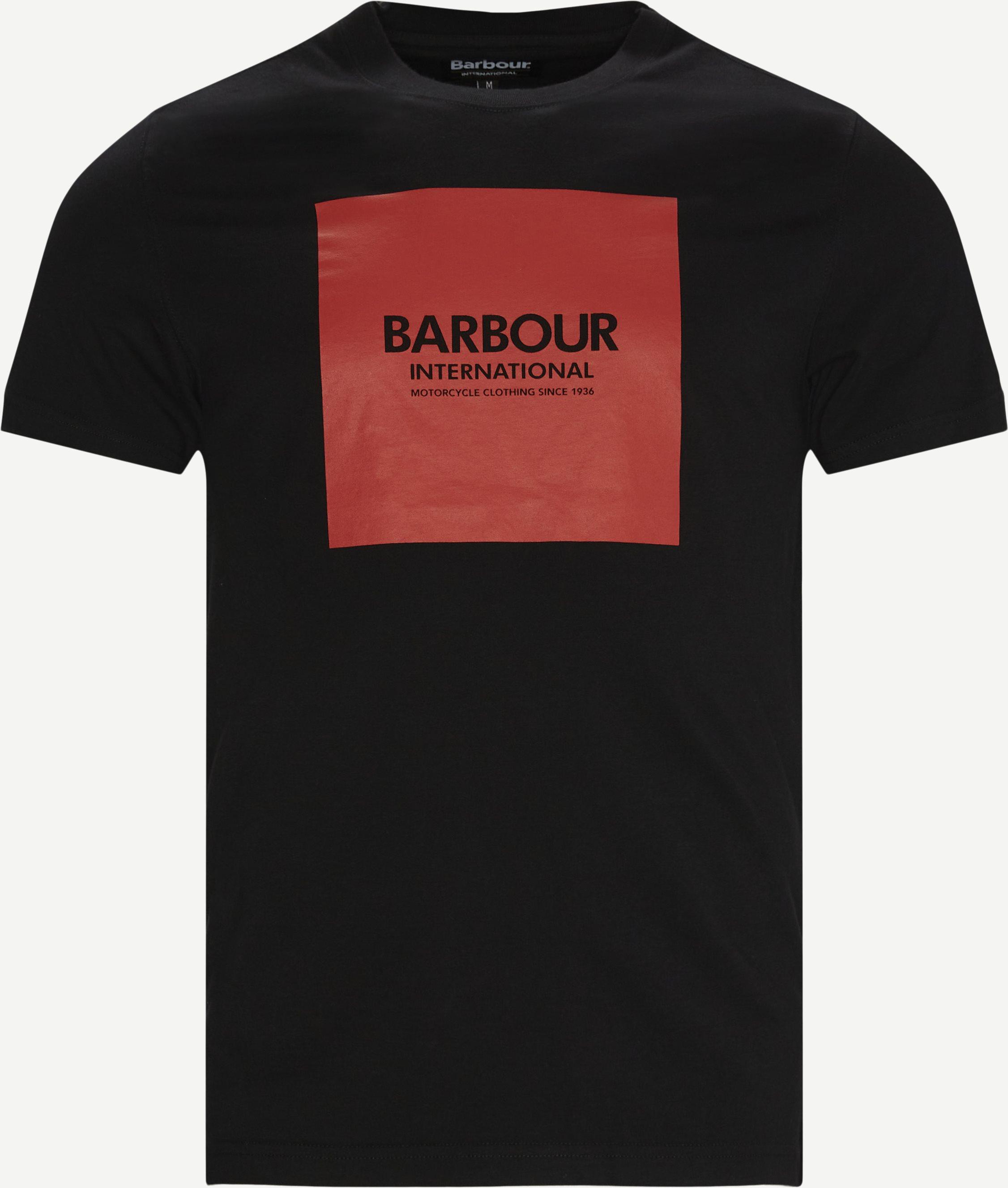 International Block T-shirt - T-shirts - Regular - Svart
