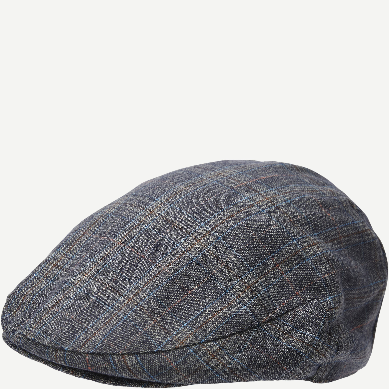 Ashford Flat Cap - Caps - Blå