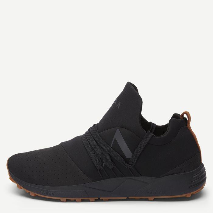 Raven Nubuck S-E15 Vibram Sneaker - Sko - Sort