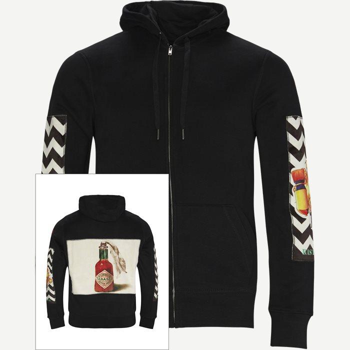 Tabasco Off Hoodie - Sweatshirts - Regular - Svart